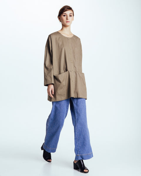Cropped raincoat top in Forest - Founders & Followers - Revisited Matters - 5