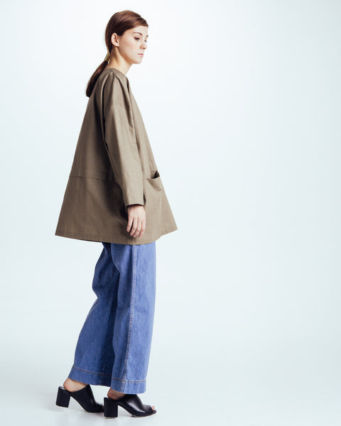 Cropped raincoat top in Forest - Founders & Followers - Revisited Matters - 6