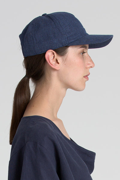 Mario Cap in Navy - Founders & Followers - Reality Studio - 4