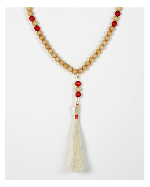 Worry Beads in White and Red - Founders & Followers - Fredericks & Mae - 2