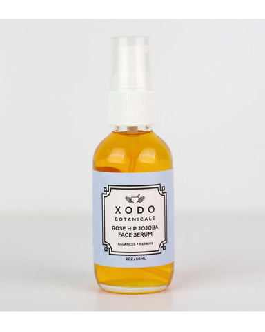 Rose hip jojoba face serum