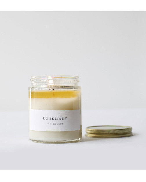 Rosemary Candle - Founders & Followers - Brooklyn Candle Studio - 1