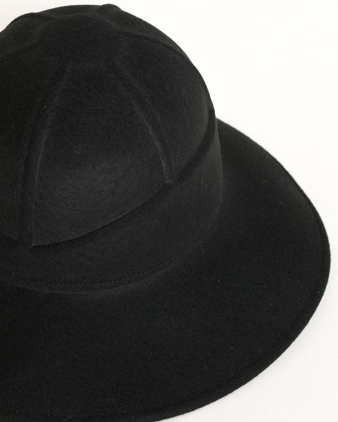 Safari Hat in Black - Founders & Followers - Clyde - 5
