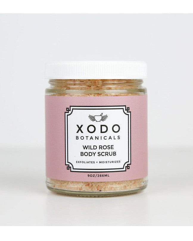 Wild rose body scrub