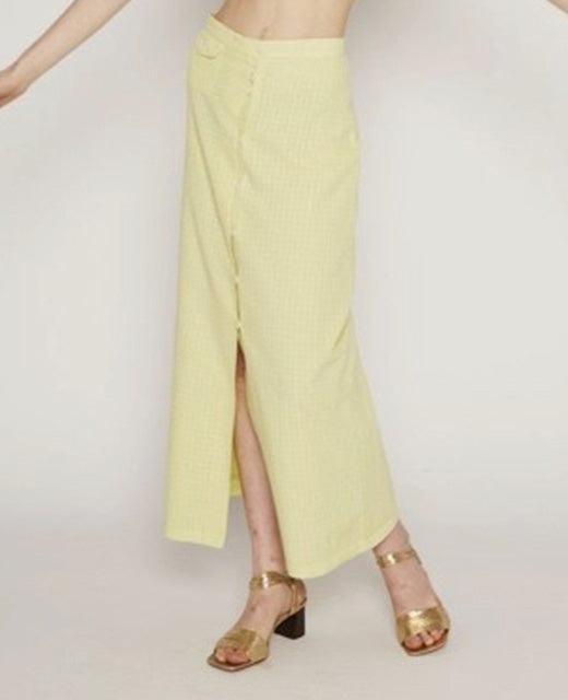 Lalonde skirt in Light green