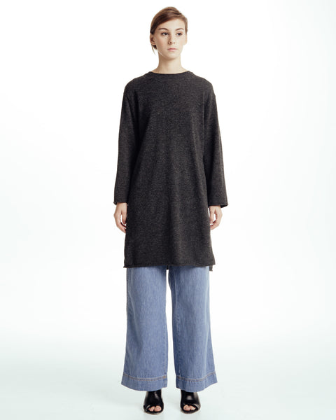 Long sweater with slits - Founders & Followers - Achro - 3