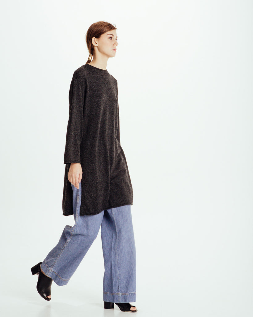 Long sweater with slits - Founders & Followers - Achro - 1