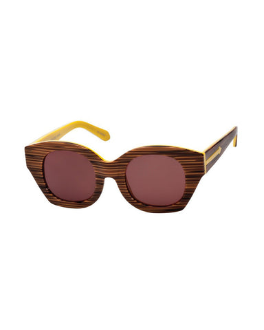 Soul Club in Wood Yellow - Founders & Followers - Karen Walker - 1