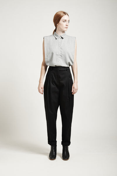 High-Waisted Tapered Pants - Founders & Followers - Suzanne Rae - 2