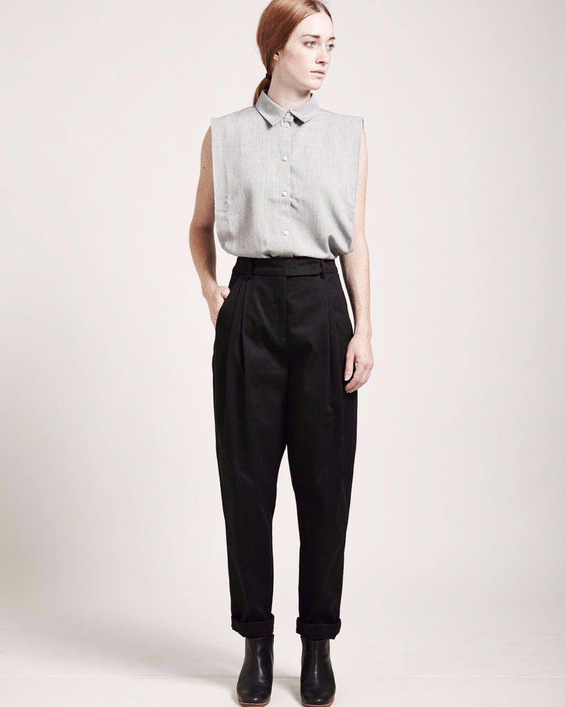 High-Waisted Tapered Pants - Founders & Followers - Suzanne Rae - 1