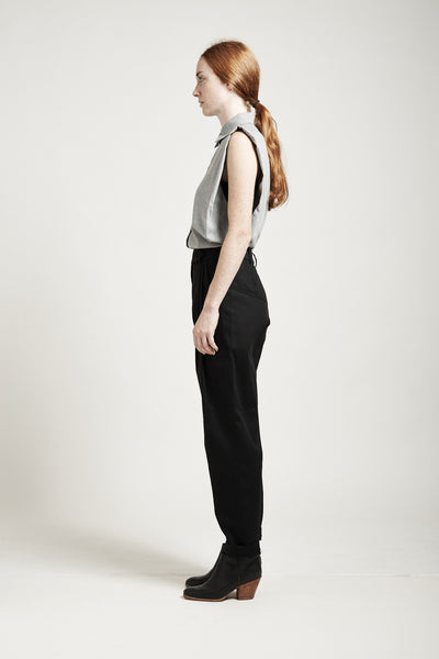 High-Waisted Tapered Pants - Founders & Followers - Suzanne Rae - 8
