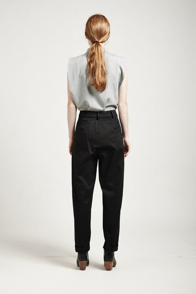 High-Waisted Tapered Pants - Founders & Followers - Suzanne Rae - 4