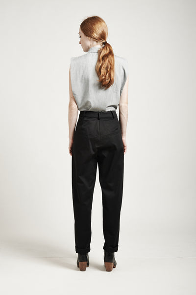 High-Waisted Tapered Pants - Founders & Followers - Suzanne Rae - 6