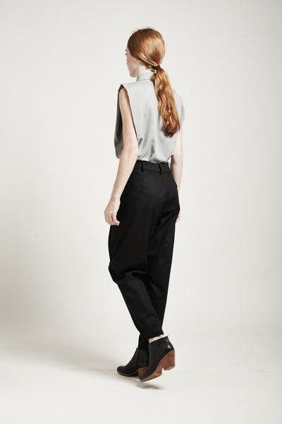 High-Waisted Tapered Pants - Founders & Followers - Suzanne Rae - 3