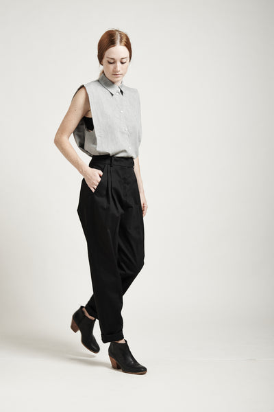 High-Waisted Tapered Pants - Founders & Followers - Suzanne Rae - 5