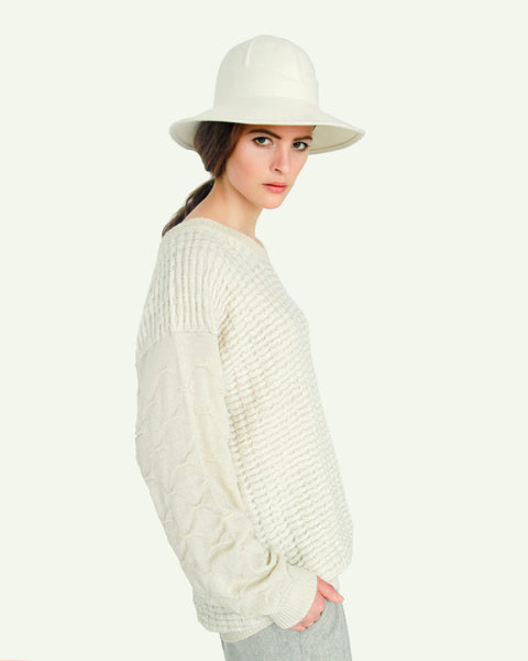 Crew Neck Sweater - Founders & Followers - Suzanne Rae - 1