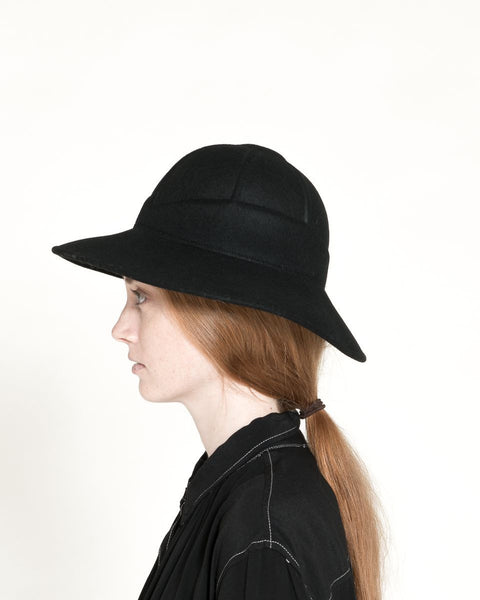 Safari Hat in Black - Founders & Followers - Clyde - 2