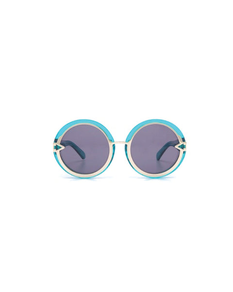 Orbit in Crystal Turquoise - Founders & Followers - Karen Walker - 2