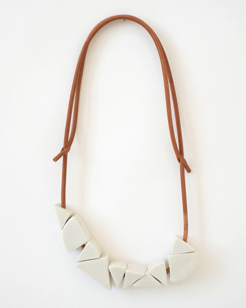 Wedge necklace - Founders & Followers - Jujumade - 1