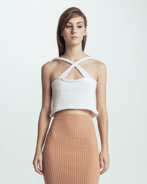 Cloud knitted camisole - Founders & Followers - Giu Giu - 1