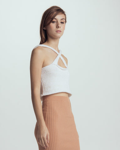 Cloud knitted camisole - Founders & Followers - Giu Giu - 2