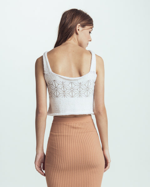Cloud knitted camisole - Founders & Followers - Giu Giu - 3