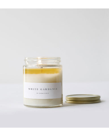 White Gardenia Candle - Founders & Followers - Brooklyn Candle Studio - 1
