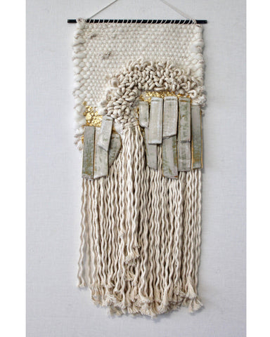 Winter White Wall hanging - Founders & Followers - All Roads Design - 1