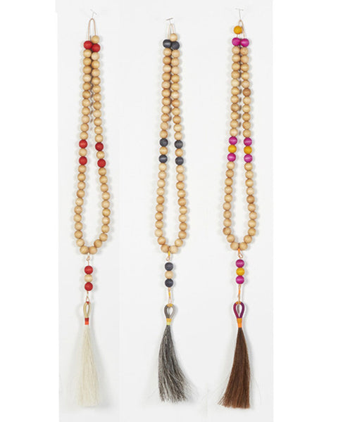 Worry Beads in White and Red - Founders & Followers - Fredericks & Mae - 3