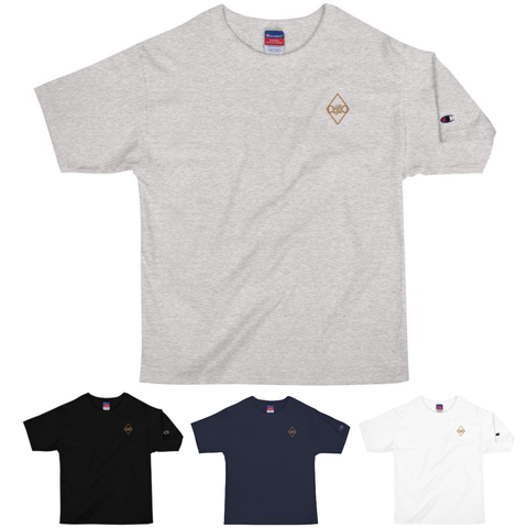 DBD X Champion Gold Embroidered Tee
