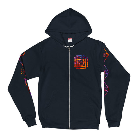 Fired Up! Zip-up Hoodie