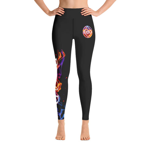 Fired Up! Yoga Leggings