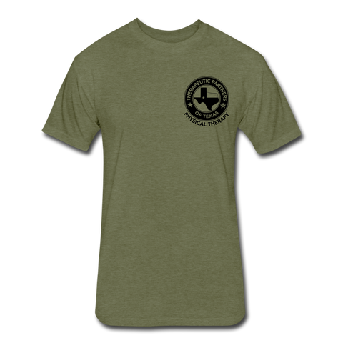 Therapeutic Partners of Texas Tee - heather military green