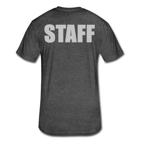 Barbell Staff MSG Tee - heather black