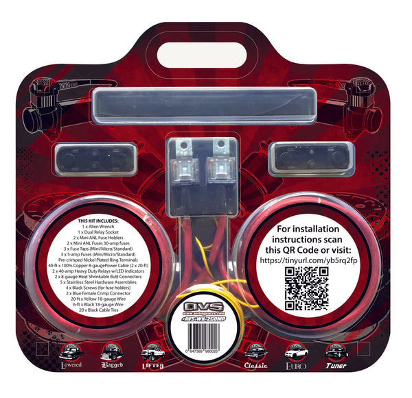 Dual Compressor Wiring Kit By AVS