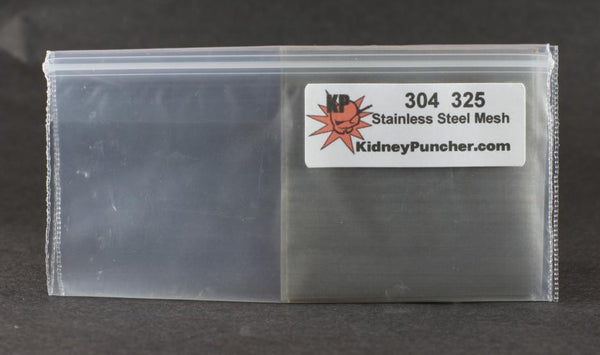 "304 325 STAINLESS STEEL MESH 2"" X 2"" SQUARE 3 PACK"