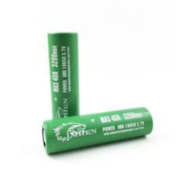 IMREN 3200 mAh 40 Amp 18650 Battery