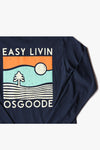GOIN COASTAL LONG SLEEVE NAVY