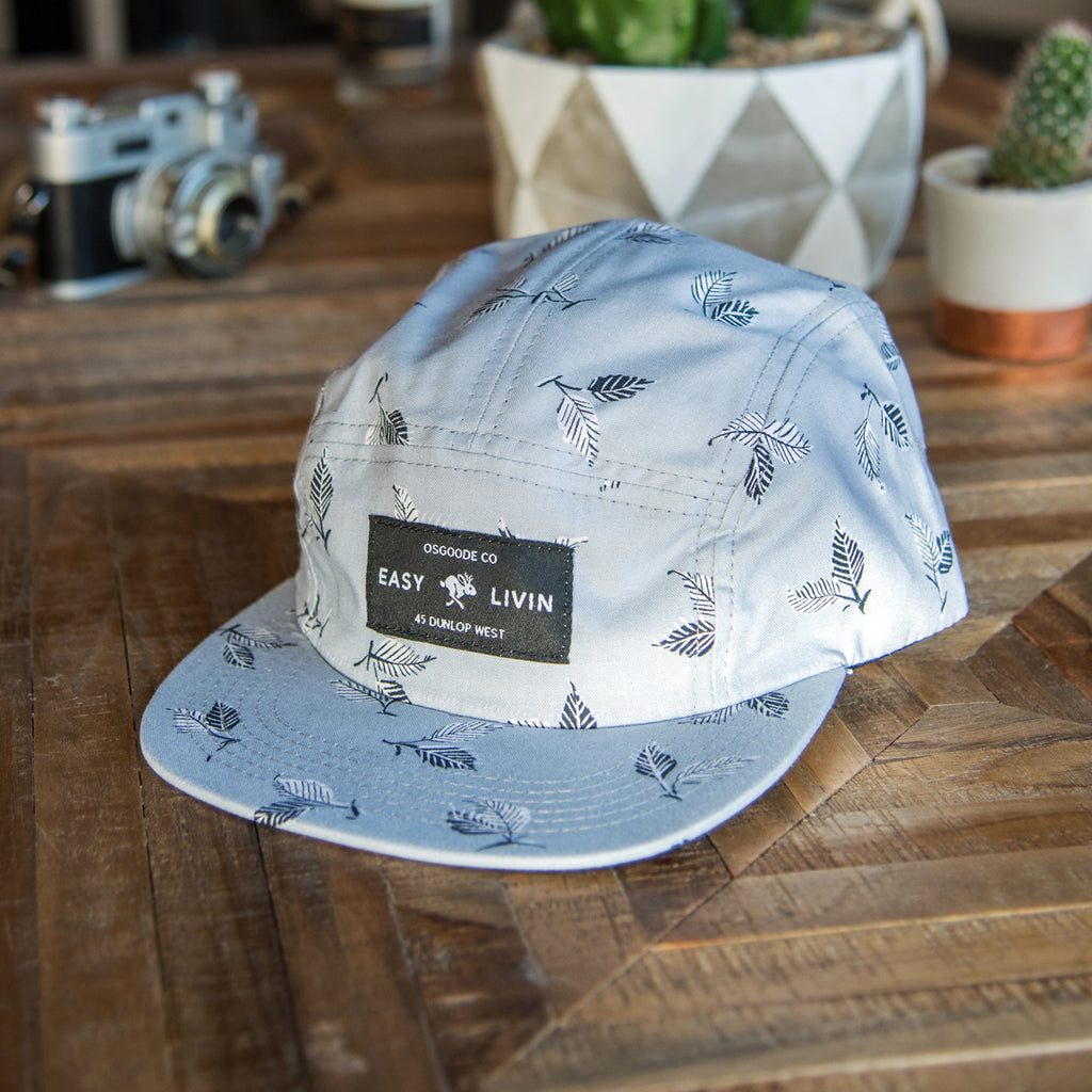 Dog Days Camp Hat - Silver