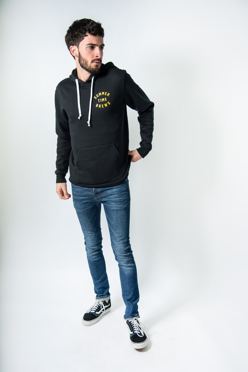 SUMMER TIME BREWS HOODIE BLACK