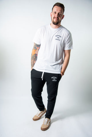 LOCAL LOVE STAMP LOGO SWEATPANTS
