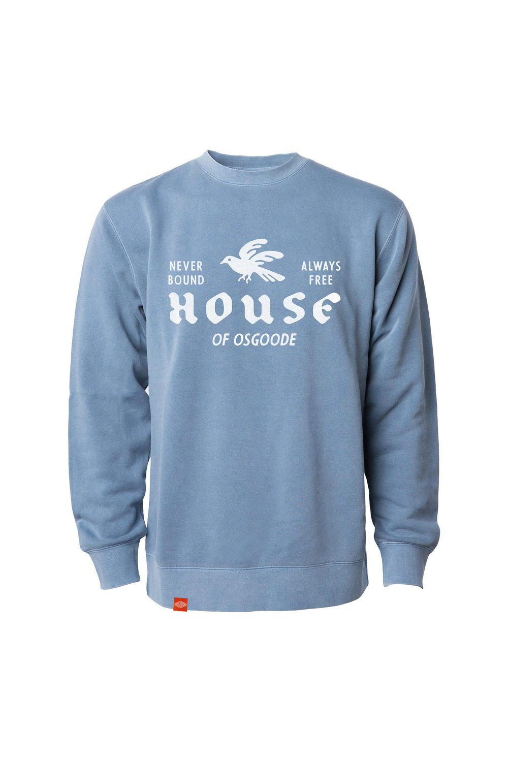HOUSE CREWNECK INDIGO BLUE