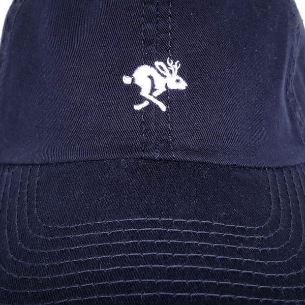 Jackalope Dad Hat Navy