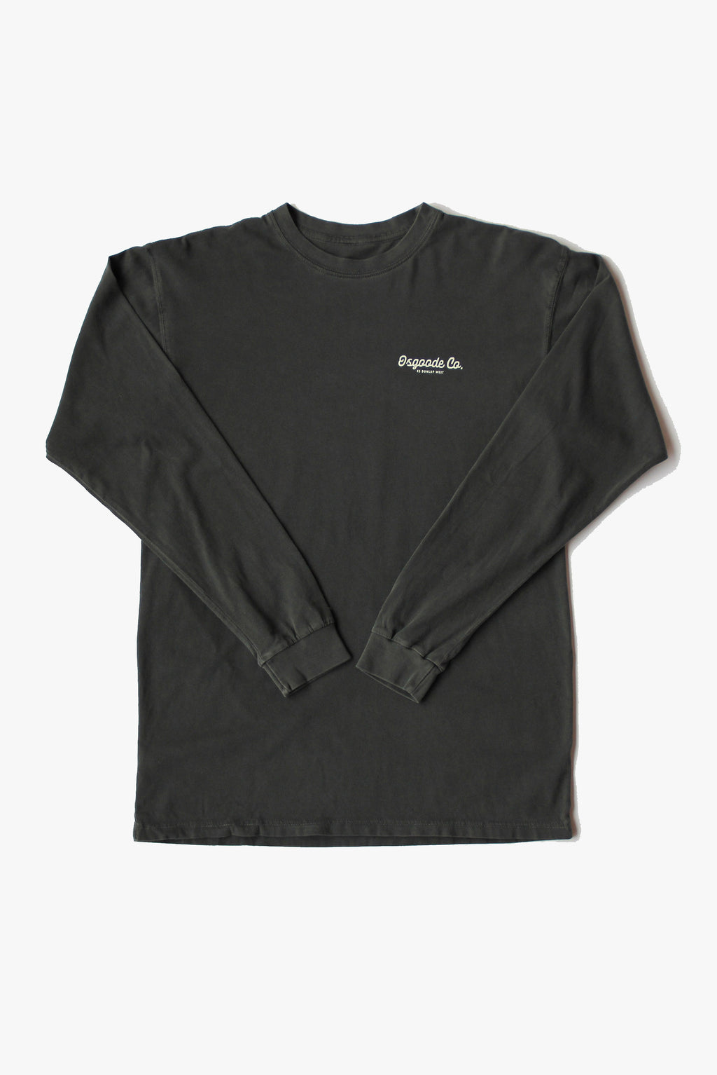 NO BAD DAYS LONG SLEEVE FADED BLACK