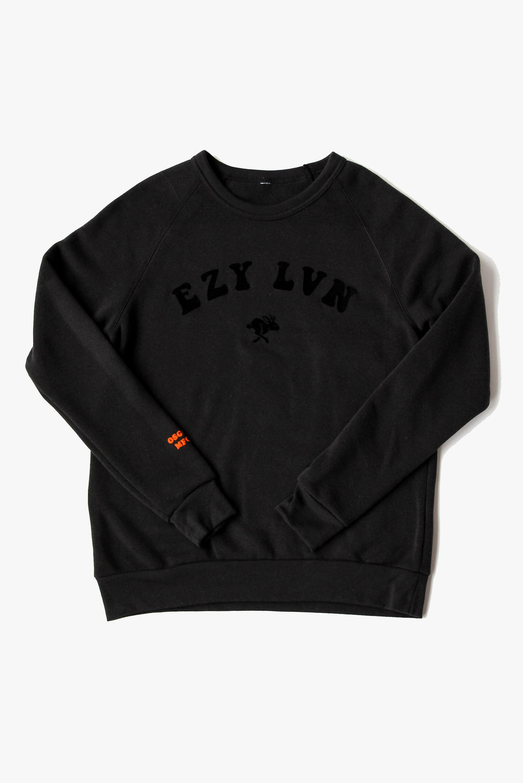 FAR OUT CREWNECK BLACK