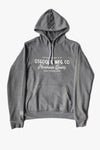 ORIGINAL LOGO PULLOVER HOODIE HEATHER GREY