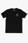 SMILEY T-SHIRT BLACK