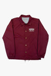 COACH JACKET MAROON
