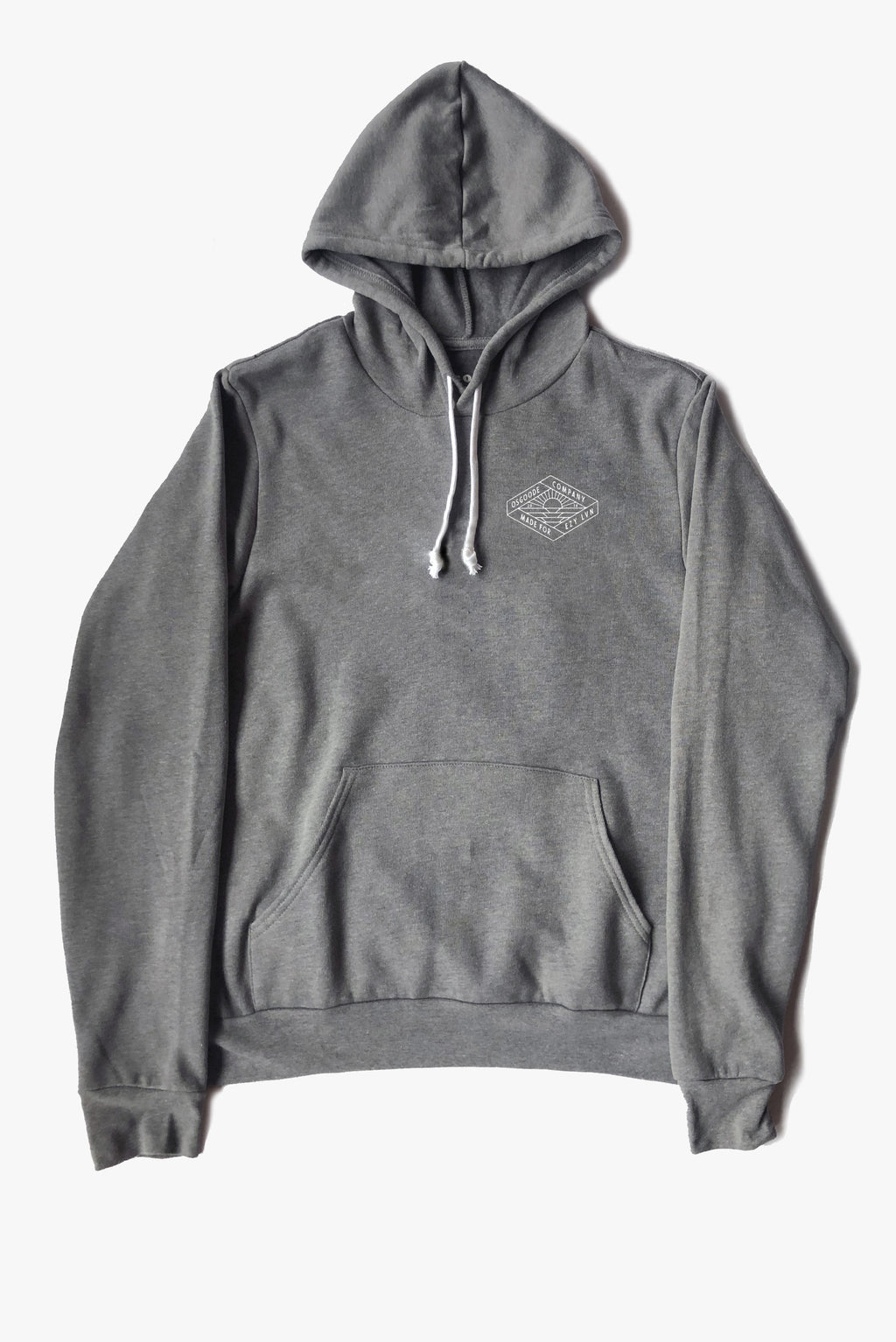 REGALIA PULLOVER HOODIE HEATHER GREY