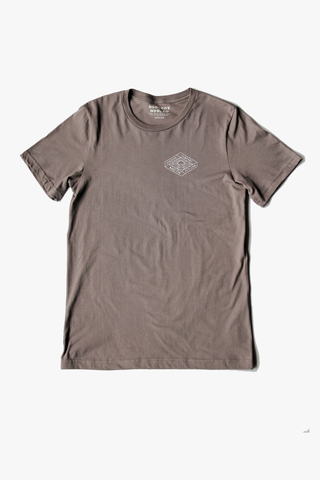 REGALIA T-SHIRT PEBBLE BROWN